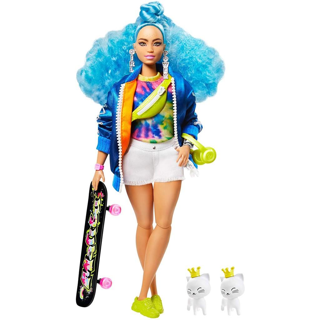 MỚI 2021 Búp Bê Thời Trang Barbie Extra Mẫu Số 4