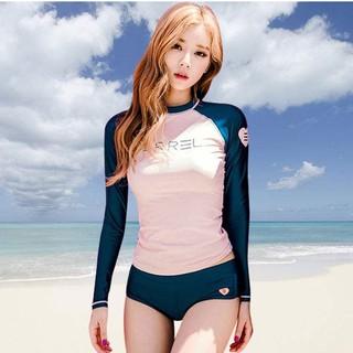 Đồ bơi dài tay thời trang-bikini-bộ bơi nữ