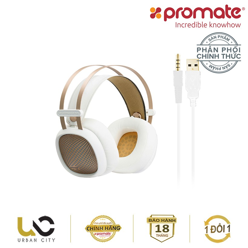 Tai nghe Over-Ear Promate Valiant kèm Mic & đèn LED - Hàng Chính Hãng - 3580865 , 1302272022 , 322_1302272022 , 950000 , Tai-nghe-Over-Ear-Promate-Valiant-kem-Mic-den-LED-Hang-Chinh-Hang-322_1302272022 , shopee.vn , Tai nghe Over-Ear Promate Valiant kèm Mic & đèn LED - Hàng Chính Hãng