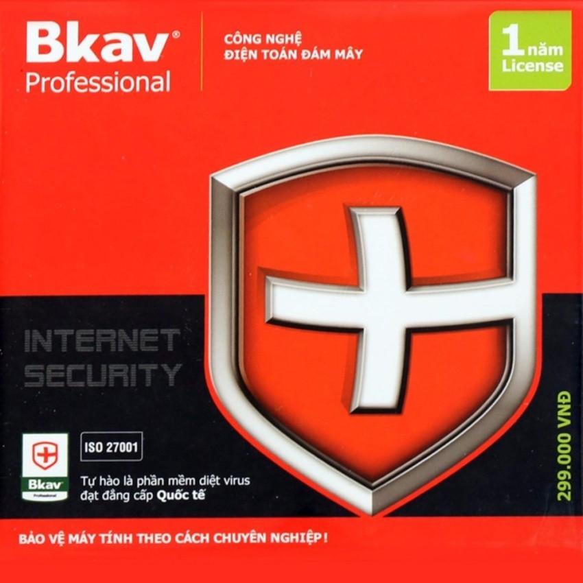 Thẻ bản quyền, Key bản quyền phần mềm diệt Virus Bkav Pro Internet Security 1 năm