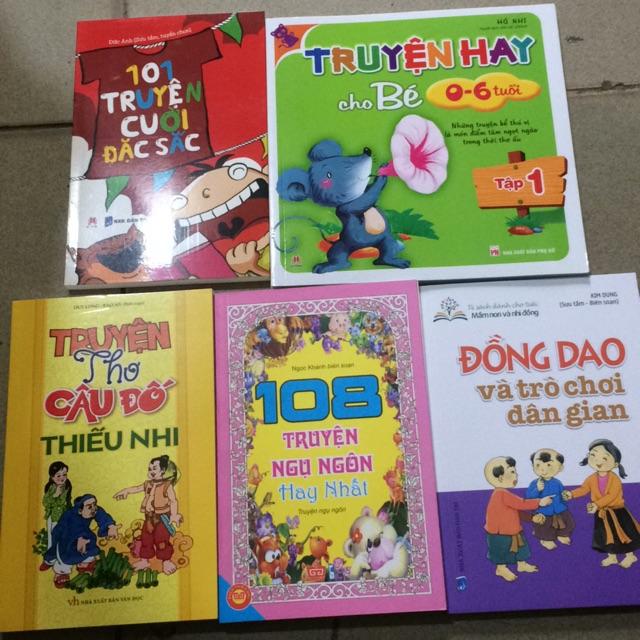 Sách - Combo 5 cuốn sách truyện dành cho thiếu nhi - 23630