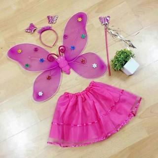 Bộ cánh bướm thiên thần chơi trung thu shop galahet349