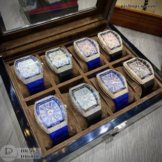 Đồng hồ nam FM-45 - Thiết kế full Đá sang trọng, tặng hộp và bảo hành 12 tháng