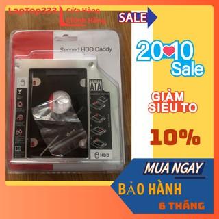 Caddy Bay HDD SSD SATA 3 9.5mm 12.7mm - Khay ổ cứng thumbnail