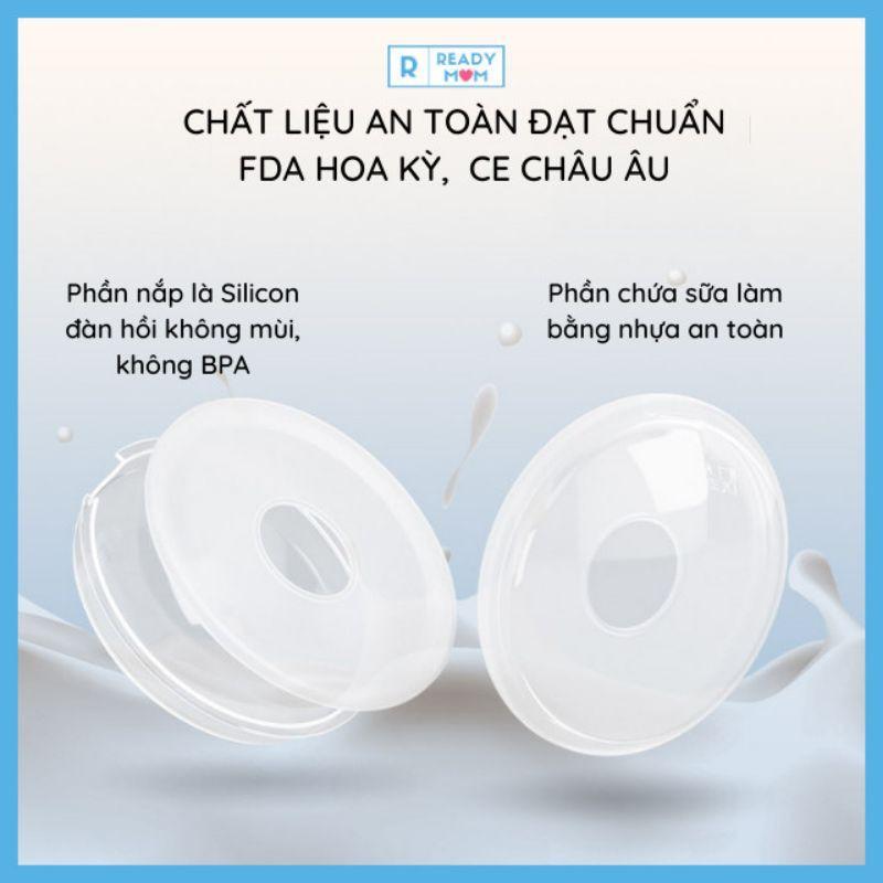 Phễu Hứng Sữa Silicon  Chất Liệu An Toàn  Dành Cho Mẹ Nuôi Con Bú  Hàng Nội Địa CMBear Trung Quốc