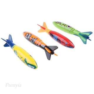 4Pcs Colorful Diving Sticks Kids Swimming Underwater Toy
