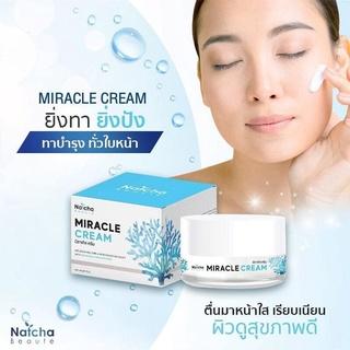 Natcha Miracle Cream kem dưỡng da mặt với công thức phong phú giúp hồi sinh làn da sâu đến cấp độ tế bào da Thái Lan
