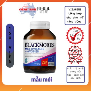 [Hàng chuẩn Úc] Vitamin tổng hợp cho phụ nữ Blackmores Multivitamin for Women DATE 2023 thumbnail