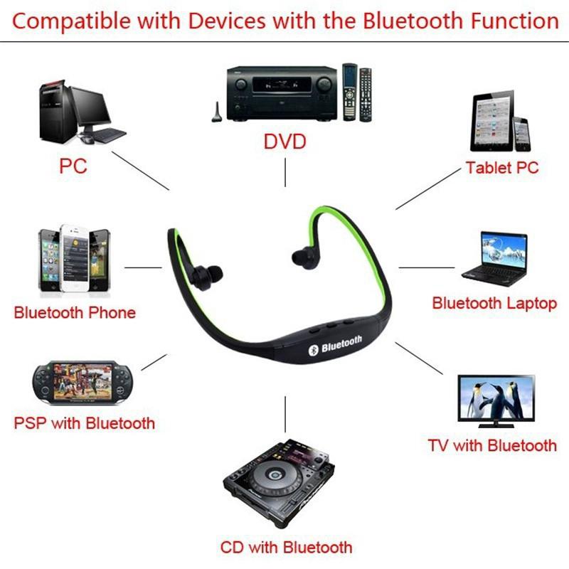 Tai Nghe Bluetooth Không Dây S9 Kèm Mic Thoại