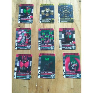 Full bộ 9 thẻ Decade kamen rider card ( bổ sung)