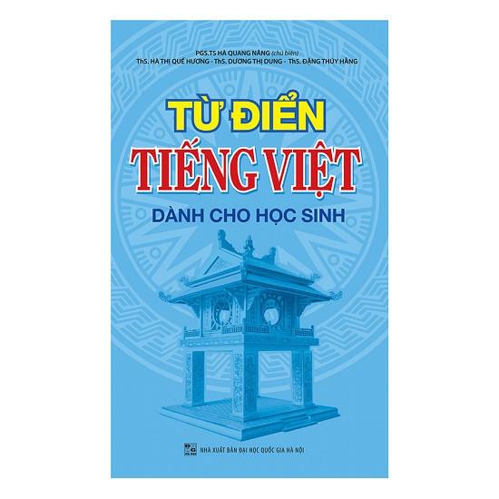 sách - Từ Điển Tiếng Việt Dành Cho Học Sinh