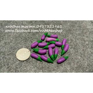 Minifood trang trí mô hình_Cà tím