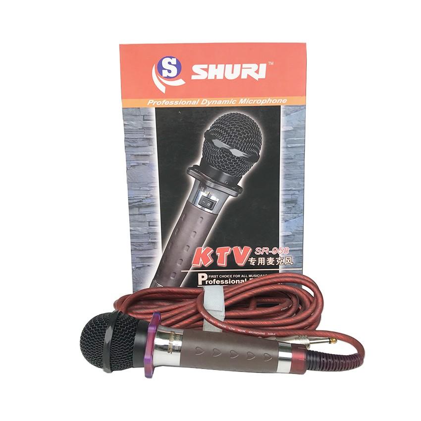 micro có dây shuri 958 chính hãng