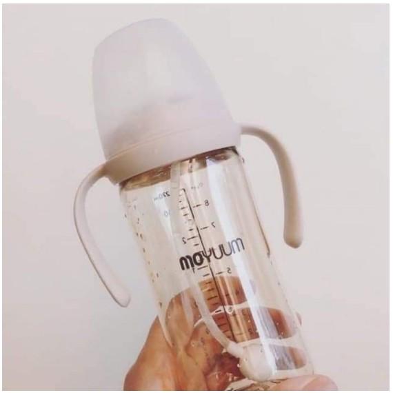 Bộ chuyển đổi bình nước/ Bộ tay cầm ống hút/ Set ống hút, quai cầm bình Moyuum Hàn Quốc