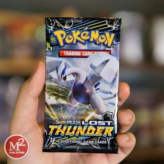 Túi thẻ bài Sun & Moon Lost Thunder Booster Pack – Sấm sét Mất tích – 10 lá bài mỗi pack – Hàng chính hãng