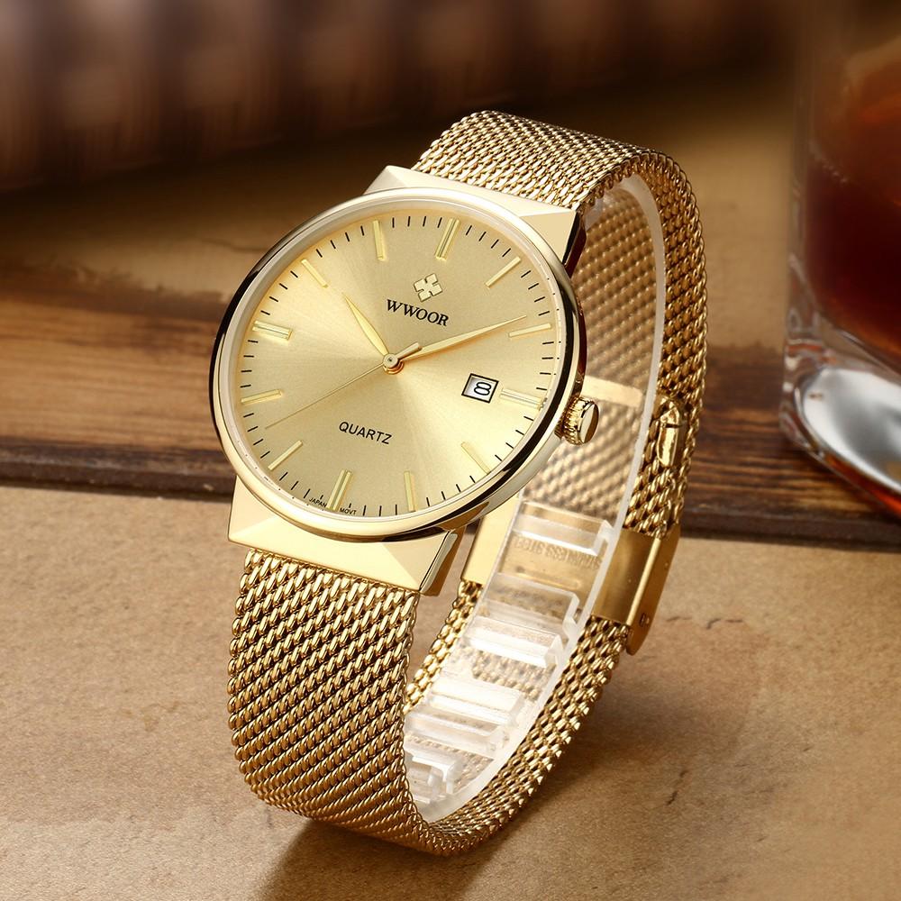 Đồng hồ Quartz chống thấm nước 8826w