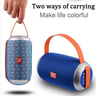 Portable boombox Wireless Bluetooth Speaker Outdoor Loudspeaker Subwoofer Speaker with Mic TF Radio