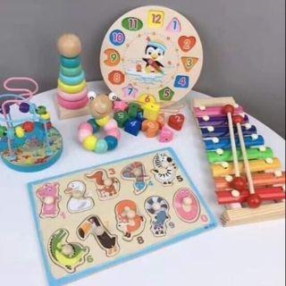 Sét đồ chơi 6 món cho bé