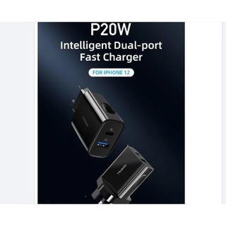Củ sạc hai cổng USB Type-C QC3.0 PD Mcdodo CH-8411 20W thumbnail