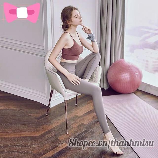 Áo bra gym/yoga bra thể thao dáng crotop hàng xịn giá rẻ