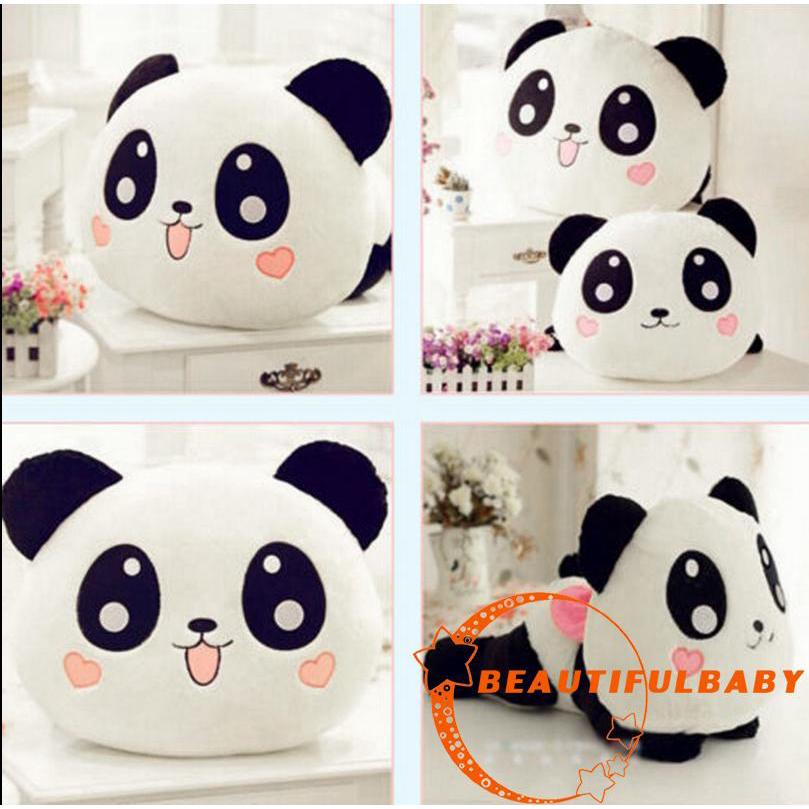 BღBღNew Kawaii Plush Doll Toy Animal Giant Panda Pillow Stuffed Bolster
