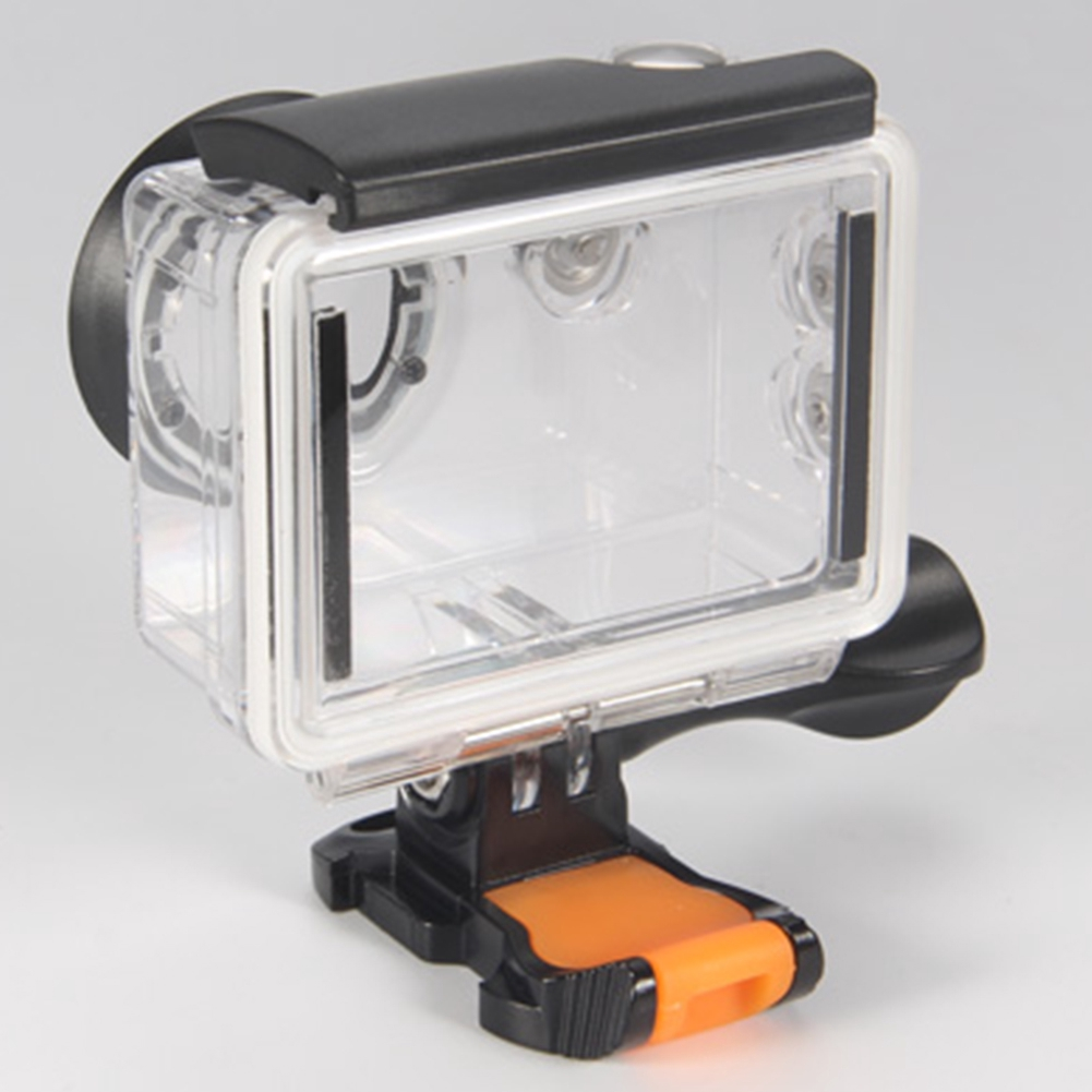 Transparent Photograph Action Camera Use Underwater Waterproof Case Protect Outdoor With Red Filter For EKEN H9R