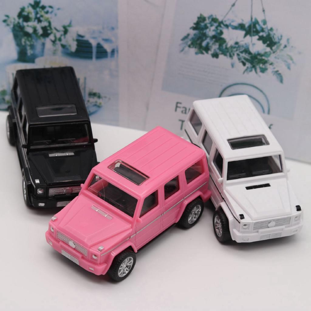 Xe mô hình đồ chơi Xe nhựa Mercedes Back Kéo xe Off-road