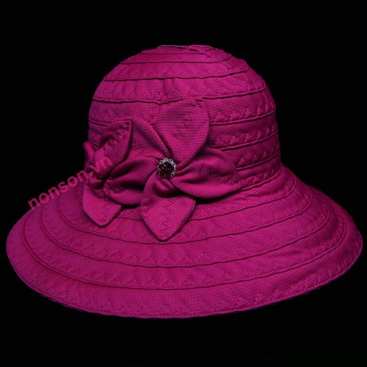 Nón Sơn mũ vành thời trang XH003-35B.HG2