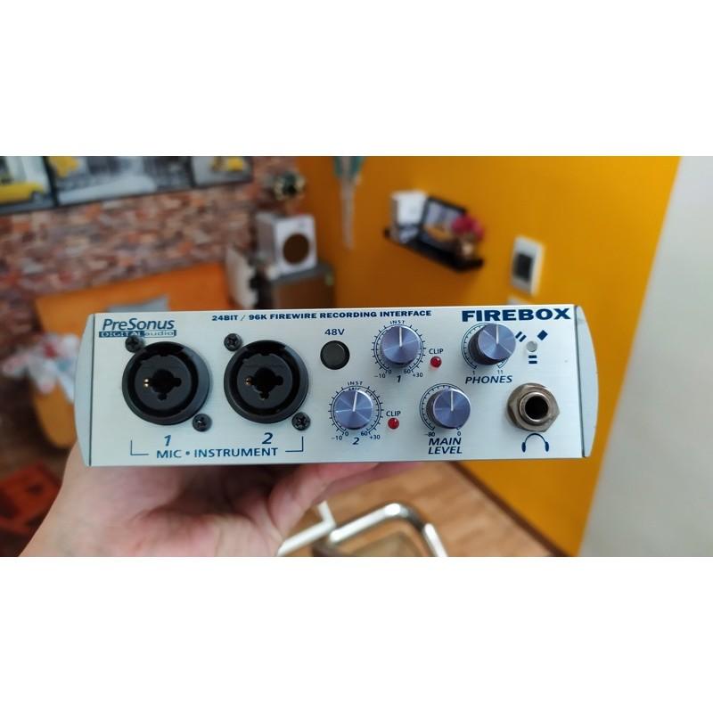 Soundcard Presonus Fire Box chuyên nghiệp