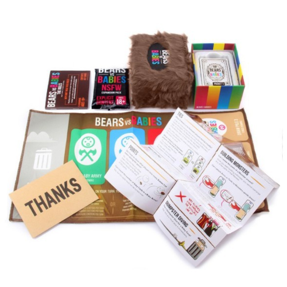 Bears Vs Babies Card Board Game Party Family Friends Adult Children Puzzle Game