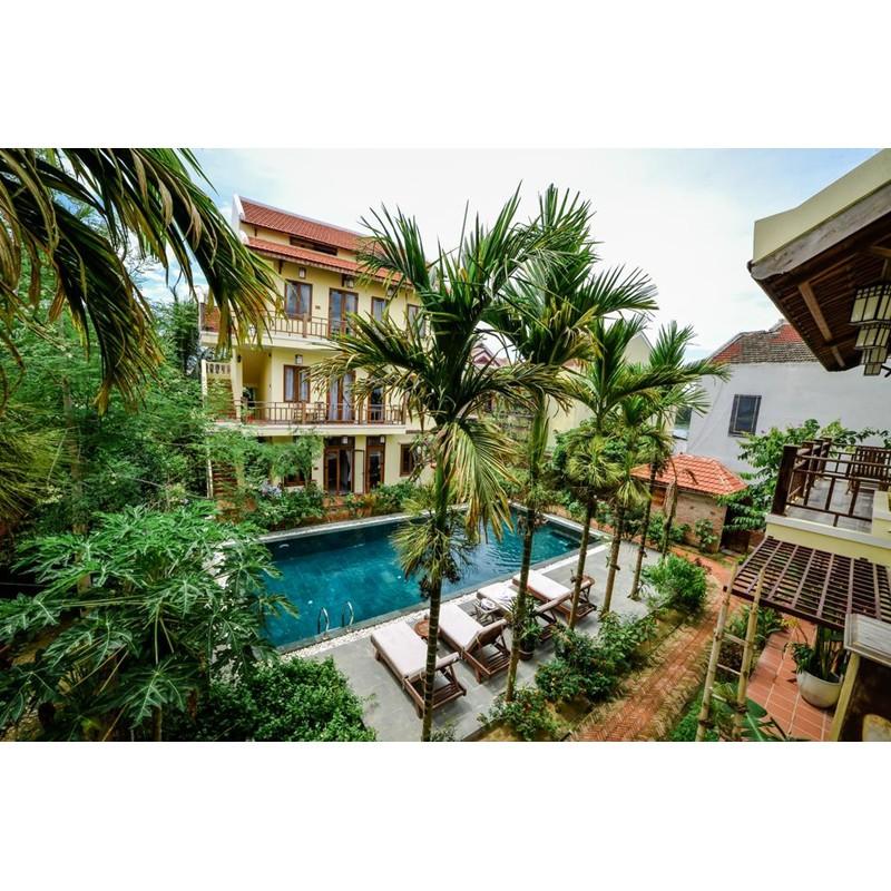 Hà Nội [Voucher] - Villa Orchid Garden Riverside 4 sao 2N1Đ Phòng Grand Suite 02 Người lớn 01 Trẻ e