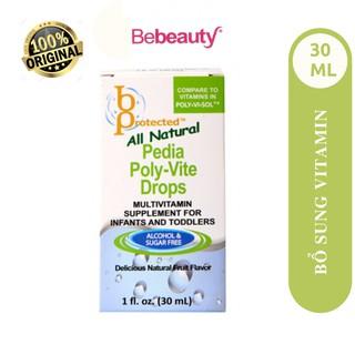 Thực Phẩm Bổ Sung Vitamin Tổng Hợp Cho Trẻ Biếng Ăn và Suy Dinh Dưỡng Bprotected Pedia Poly-Vite Drops 30ml thumbnail