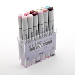 Bộ 12 màu bút marker Copic Sketch Set Ex-1 - 3174705 , 968756177 , 322_968756177 , 1150000 , Bo-12-mau-but-marker-Copic-Sketch-Set-Ex-1-322_968756177 , shopee.vn , Bộ 12 màu bút marker Copic Sketch Set Ex-1