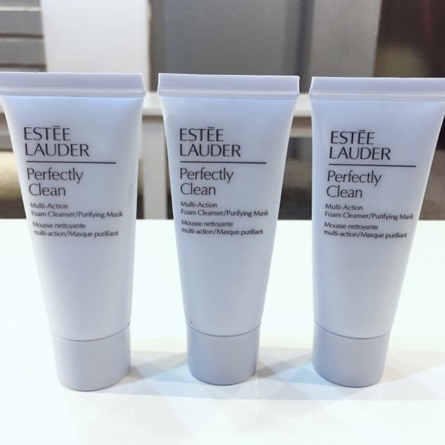 [Estee Lauder] - Sữa rửa mặt kiêm mặt nạ Perfectly Clean Multi-Action Foam Cleanser/Purifying Mask