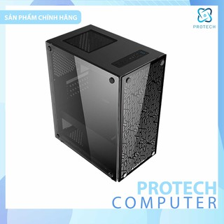 Vỏ Case PC Xigmateck NYX (No fan) 2 mặt kính cường lực BH 12 tháng giá rẻ.