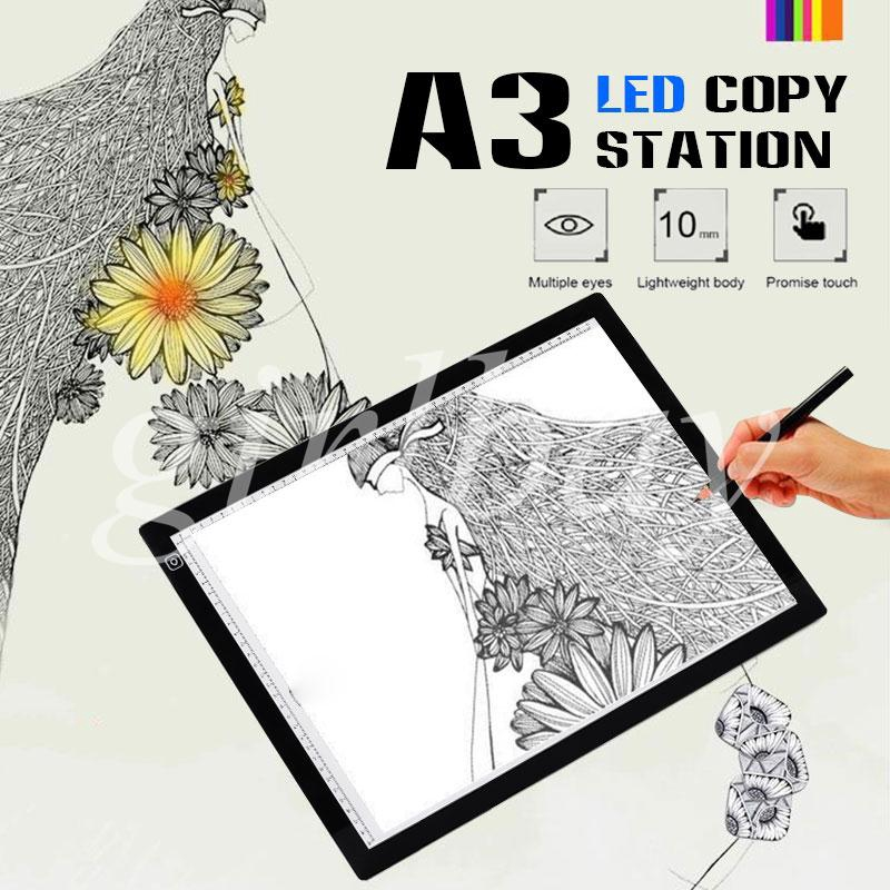 King Drawing Tablet Tracing Board Cartoon Painting LED Super Bright Multifunctional 5V Giá chỉ 710.336₫