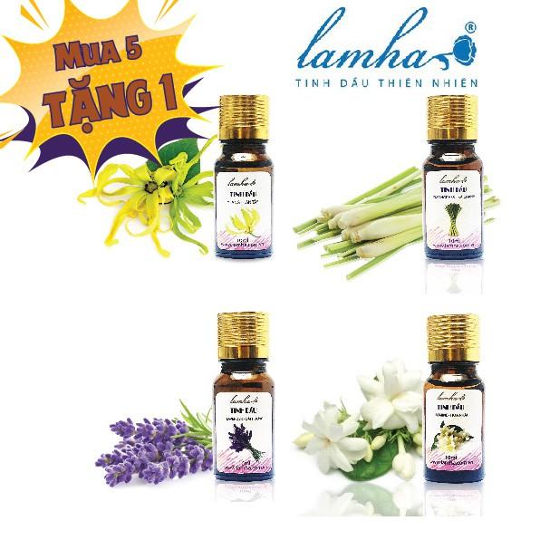 Tinh dầu Lam Hà 10ml - tùy chọn 20 mùi hương