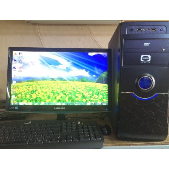 Bộ máy PC và màn hình 19 inch Văn phòng giá rẻ Giá chỉ 1.960.000₫