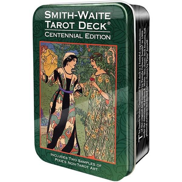 Bài Smith Waite Centennial Tarot Deck in a Tin (Guu Tarot Shop)