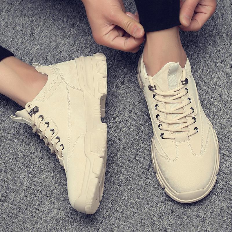 Giày Sneaker Nam [ FREESHIP ] Tăng Chiều Cao Phong Cách Cực Ngầu Thời Trang Trẻ Trung - G08