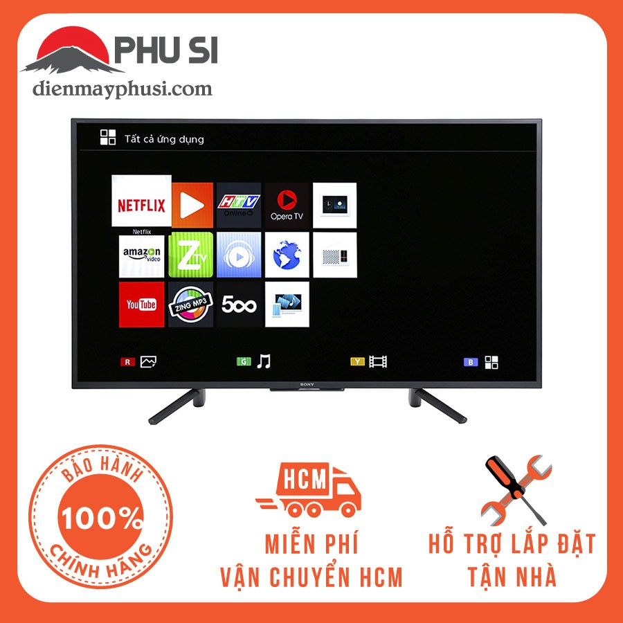 [Giao HCM] 50W660F - Smart Tivi Sony Full HD 50 inch KDL-50W660F - Hàng Chính Hãng