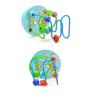 [HOT] Đồ chơi luồn hạt gỗ an toàn cho bé – Toca Toys
