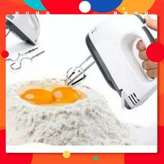 [ SALE TƯNG BỪNG]  Máy đánh trứng trộn bột cầm tay 7 tốc độ. Hàng chất lượng lại rẻ.