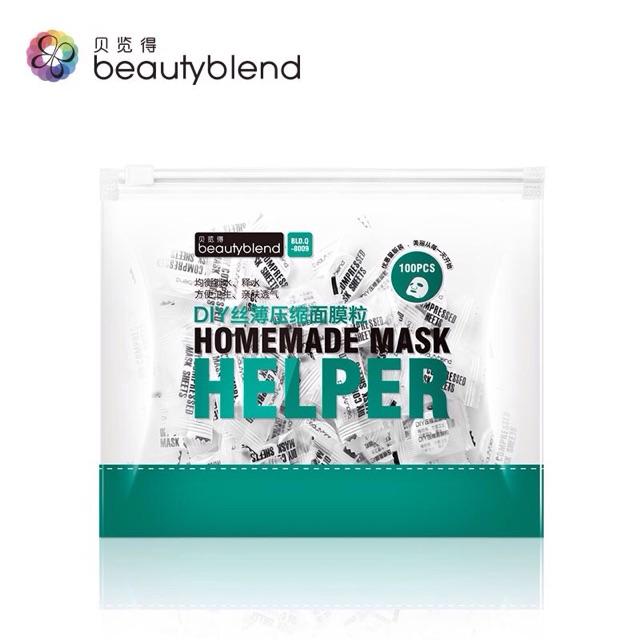 Mask nén BeautyBlend bản lụa