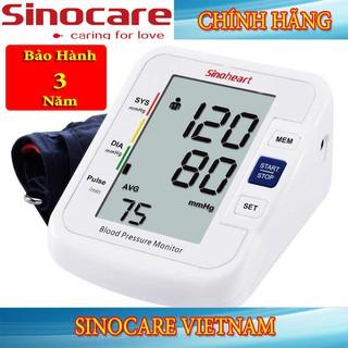 Máy đo huyết áp Sinocare Sinoheart BA-801 Chính Hãng giá rẻ