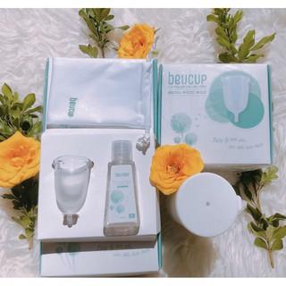 Cốc nguyệt san BCUP +gel vệ sinh cốc + cốc tiệt trùng+ túi vải ( hàng chính hãng công ty)