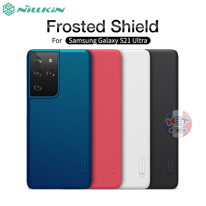 6. Ốp lưng Nillkin Frosted Shield cho Samsung Galaxy S21 Ultra