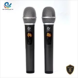 Micro Karaoke Không Dây Đa Năng Shubole MU02D Chuyên Dùng Cho Loa Hoặc Âm Ly