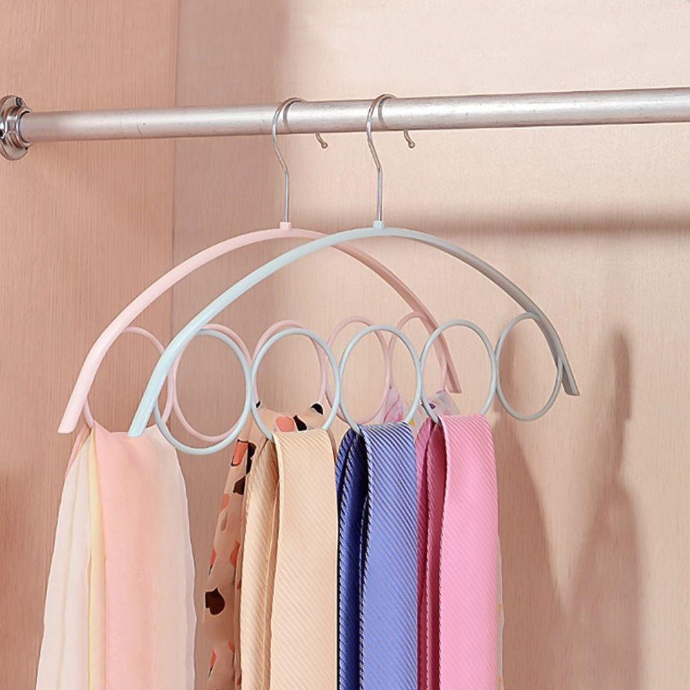 Móc treo thiết kế 5 lỗ tròn giúp sắp xếp khăn cổ/cà vạt/thắt lưng chất liệu  nhựa kích thước 41.5*23 cm | Shopee Việt Nam