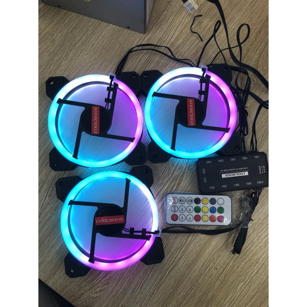 Fan case COOLMOON SUNSHINE RGB (pack 3 fan)_NTC1